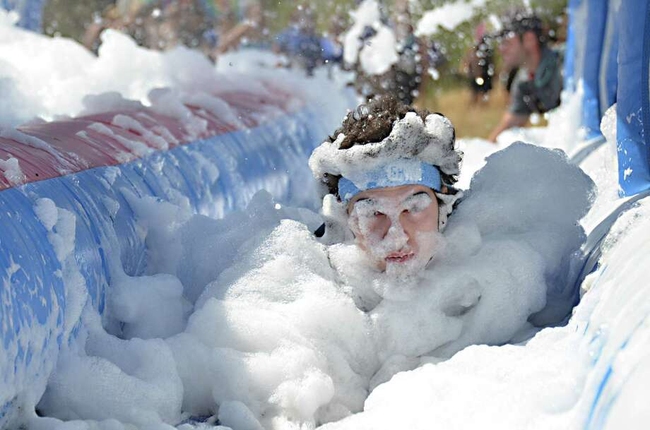 Contestants can come clean at Foam Fest. Photo: Courtesy Photo