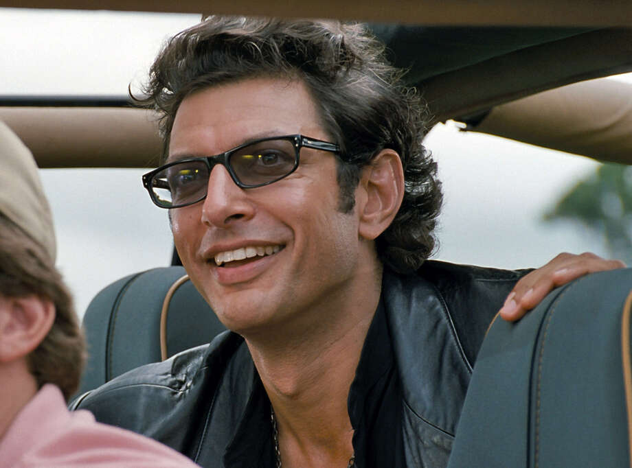 "Jeff Goldblum plays chaos theory  expert Dr. Ian Malcolm in ""Jurassic Park."" Photo: Universal Pictures"