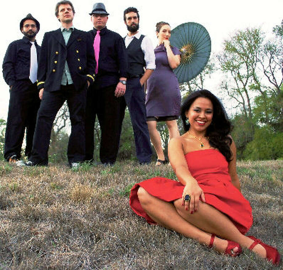 Austin band Sweetmeat is fronted by singer Gina Lopez Holton. Photo: Courtesy Photo