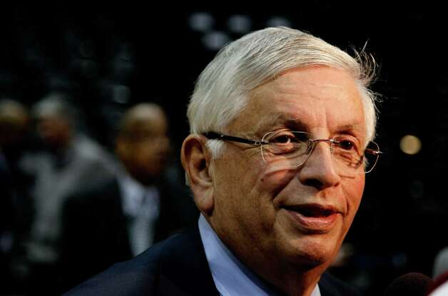 Feb. 7, 2012: NBA Commissioner David Stern says Seattle is a great city for the NBA and wouldn't mind seeing a basketball team back here.  Photo: Kevin C. Cox, Getty Images / 2012 Getty Images