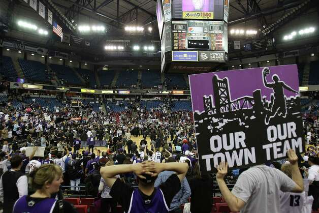 Early February 2012: The Sacramento Kings immediately become a potential target for relocation to Seattle. The city and the team's owners are in dispute about building a new arena -- much the same situation the Sonics were in before they left Seattle.  Photo: Jed Jacobsohn, Getty Images / 2011 Getty Images