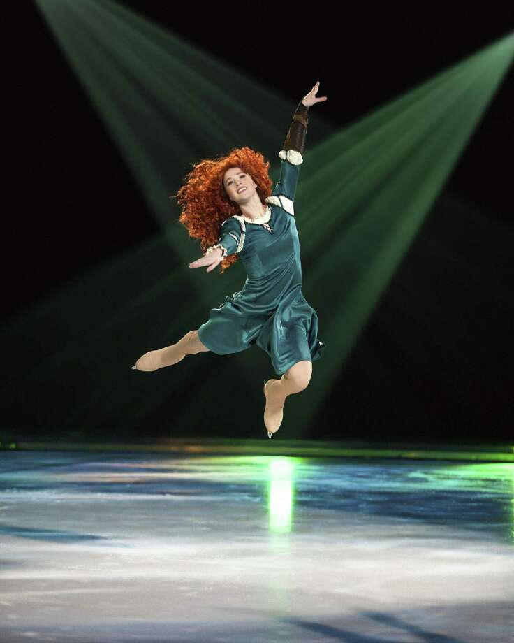 "Merida from ""Brave"" makes her debut in the Disney showcase that opens Wednesday. Photo: Courtesty Photo"