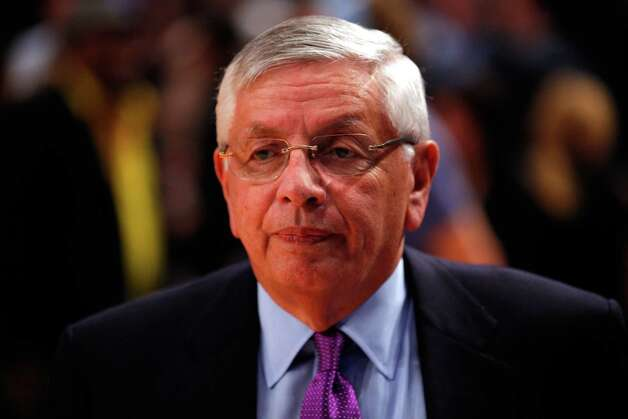 April 13, 2012: NBA Commissioner David Stern says the agreement between Sacramento and the Maloofs will likely not happen.  Photo: Jeff Zelevansky, Getty Images / 2012 Getty Images