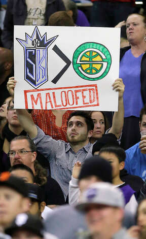 Jan. 20, 2013: Reports surface that Chris Hansen had reached an agreement to buy 65 percent of the Kings at an overall valuation of $525 million, meaning the Seattle group would spend about $340 million. The next day, Chris Hansen confirms the deal in a statement, as do the Maloofs and the NBA.  Photo: Rich Pedroncelli, Associated Press / AP2013