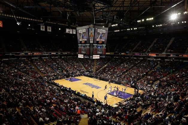 Feb. 25, 2013: That night, Fox-40 Sacramento TV reports that a minority Kings owner, real-estate developer John Kehriotis, has a new plan to keep the Kings in Sacramento. His new group would reportedly spend $750 million on acquiring a controlling stake in the Kings and on building a new arena for the California capital, but it was unclear what the new effort would mean for Sacramento Mayor Kevin Johnson's counteroffer.  Photo: Ezra Shaw, Getty Images
