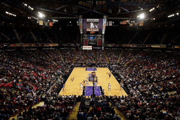 March 21, 2013: The city of Sacramento misses its self-imposed deadline to finish a term sheet for the financing of a new arena for the Kings. The delay shows just how challenging it is to scramble together a viable counteroffer to Chris Hansen's Seattle bid.  Photo: Ezra Shaw, Getty Images / 2012 Getty Images