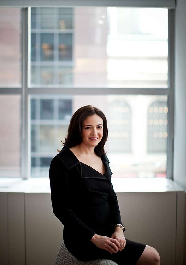 Sheryl Sandberg's experience is a positive. Photo: Todd Heisler, New York Times