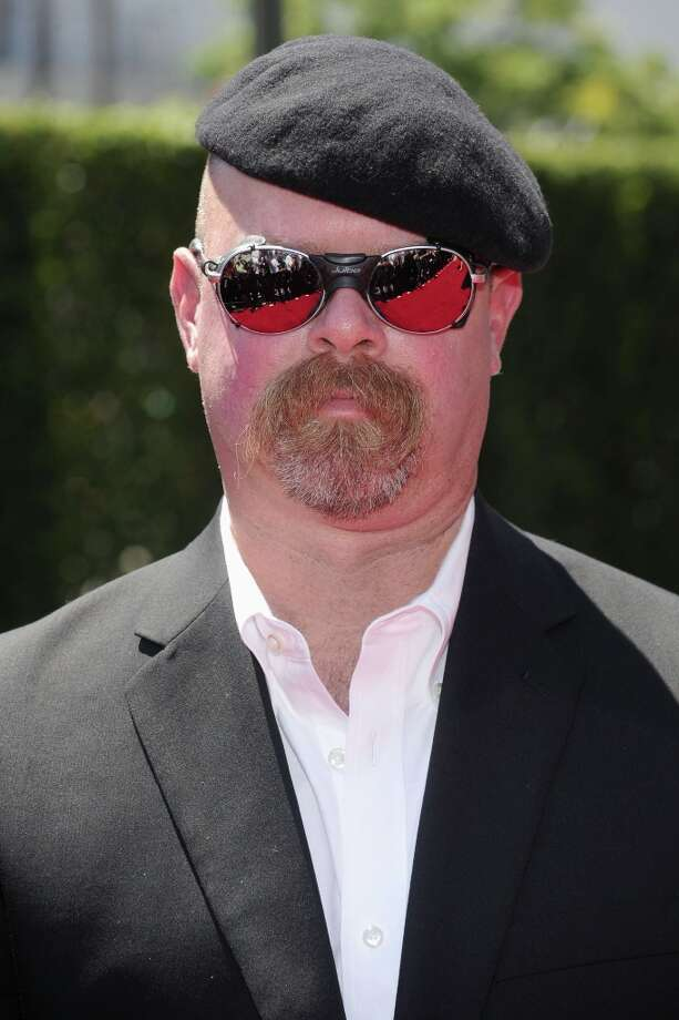 TV personality Jamie Hyneman arrives at 62nd Primetime Creative Arts Emmy Awards at the Nokia Theatre L.A. Live on August 21, 2010. Photo: Frazer Harrison, Getty Images / 2010 Getty Images