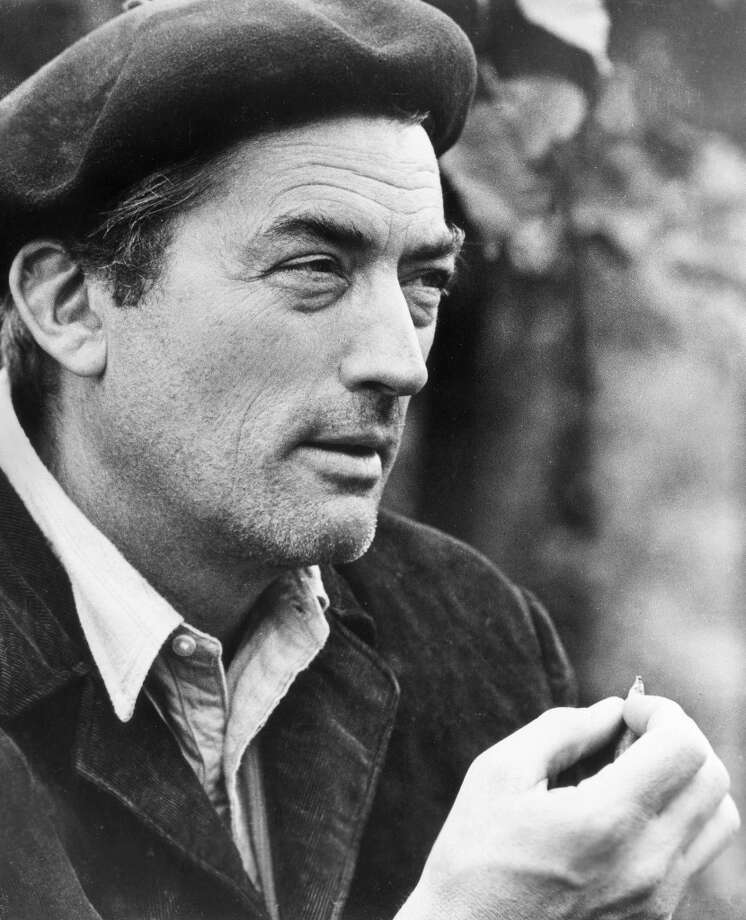 """1964: American actor Gregory Peck (1916-2003) in a still from director Fred Zinnemann\'s film, \""""Behold a Pale Horse.\"""" Photo: Hulton Archive, Getty Images / Archive Photos"""