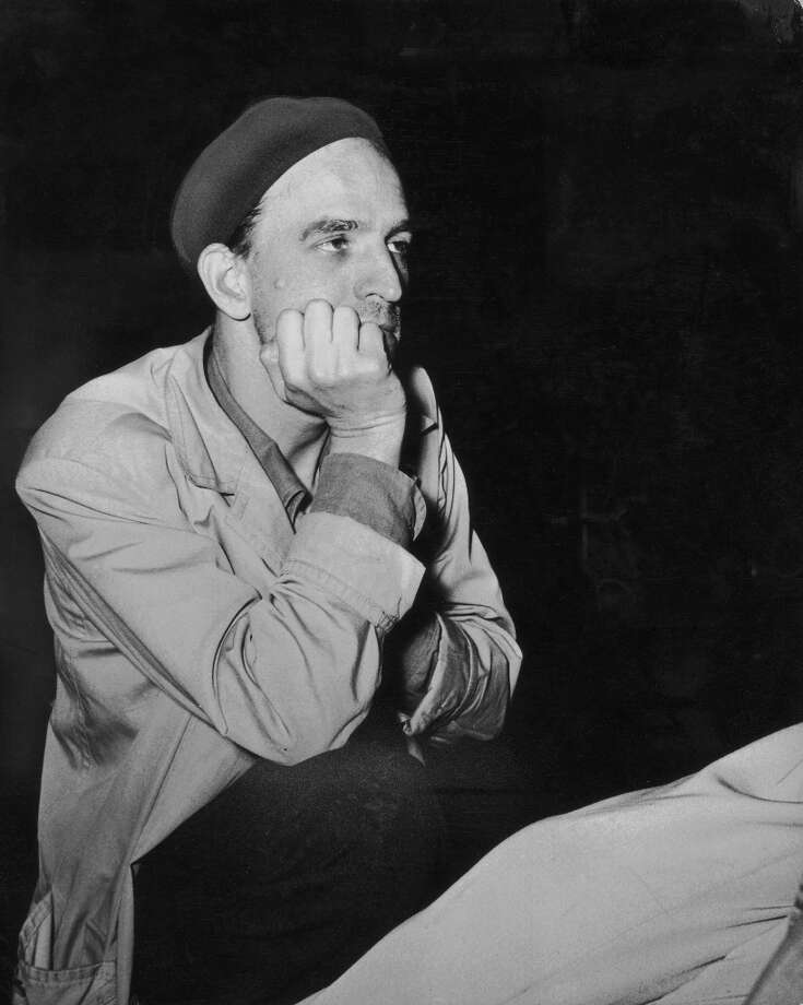 Swedish film director Ingmar Bergman (1918-2007) deep in thought, 25th October 1959. Photo: Archive Photos, Getty Images / 2007 Getty Images