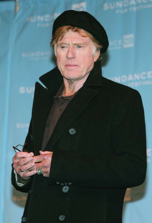 President and founder of Sundance Institute Robert Redford speaks at the opening day press conference held at the Egyptian Theatre during the Sundance Film Festival on January 15, 2009 in Park City, Utah. Photo: Bryan Bedder, Getty Images / 2009 Getty Images