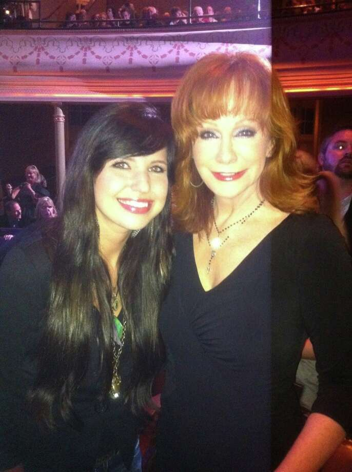 Savannah Berry and Reba.