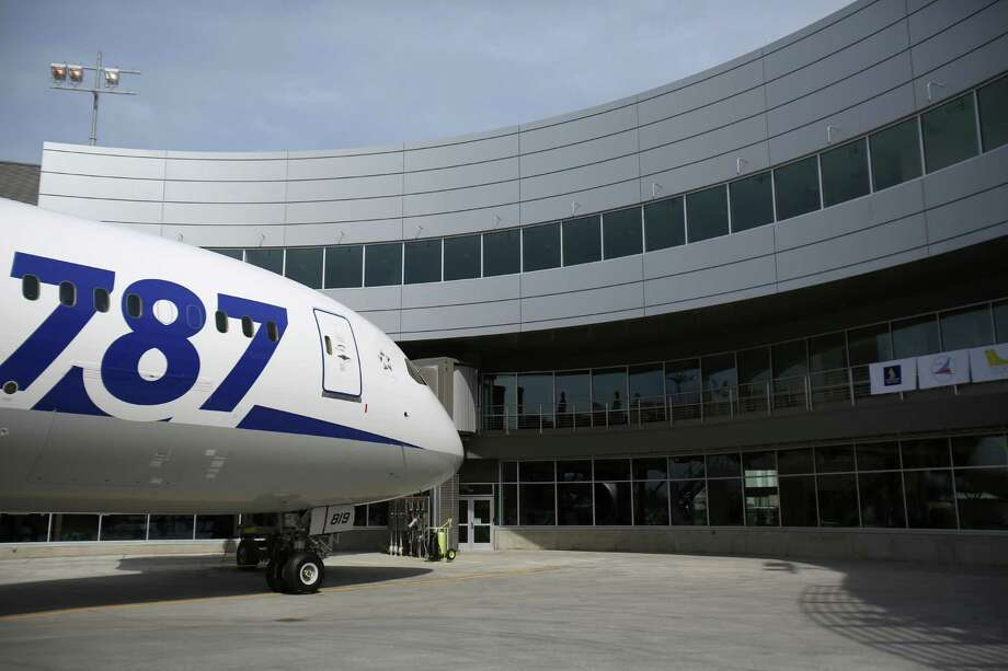 An All Nippon Airways 787 is shown at Boeing's new Everett Delivery Center. Photo: JOSHUA TRUJILLO / SEATTLEPI.COM