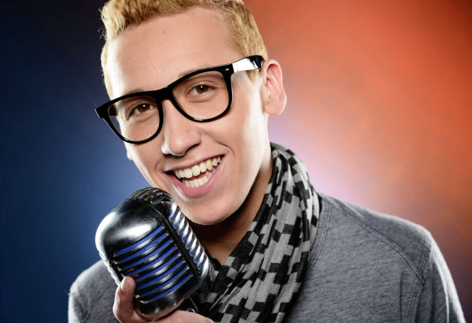 AMERICAN IDOL: Devin Velez. CR: Michael Becker / FOX. Copyright: FOX. ELIMINATED MARCH 28.