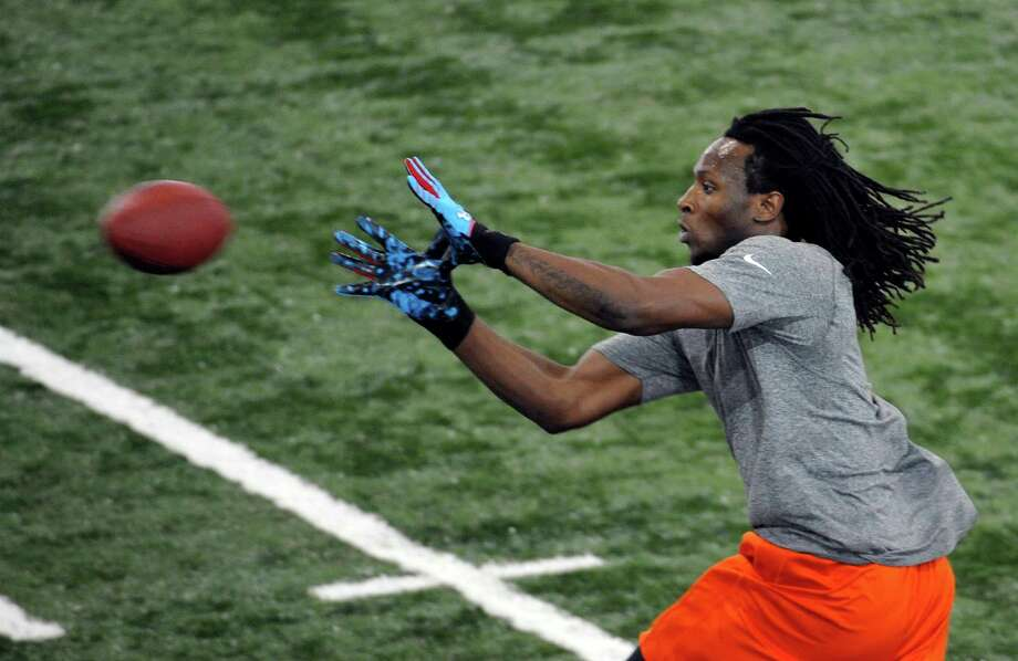 DeAndre Hopkins, who had three productive seasons at Clemson, would fill the Texans' need at wide receiver. Photo: Rainier Ehrhardt, FRE / FR155191 AP