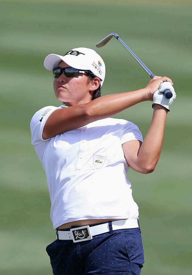 PHOENIX, AZ - MARCH 15:   Yani Tseng of Taiwan plays a shot during the second round of the RR Donnelley LPGA Founders Cup at Wildfire Golf Club on March 15, 2013 in Phoenix, Arizona.  (Photo by Christian Petersen/Getty Images) *** Local Caption *** Yani Tseng Photo: Christian Petersen / 2013 Getty Images