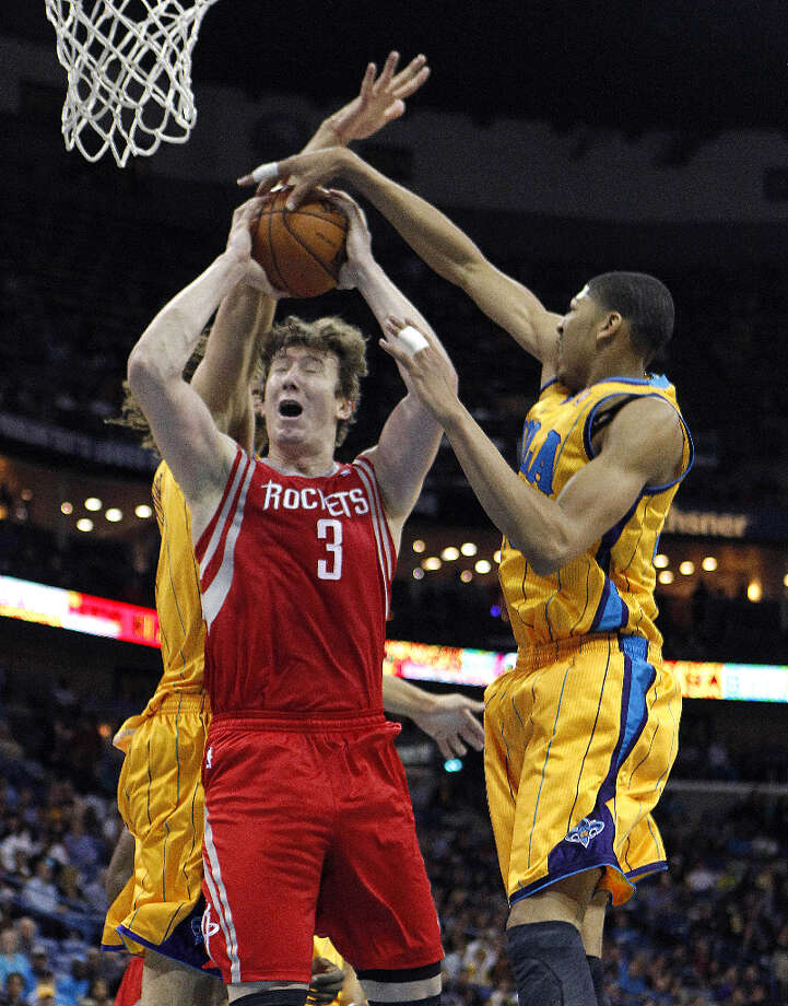 Jan. 25: Rockets 100, Hornets 82The Rockets won three out of four games against New Orleans this season. Record: 23-22. Photo: Gerald Herbert, Associated Press