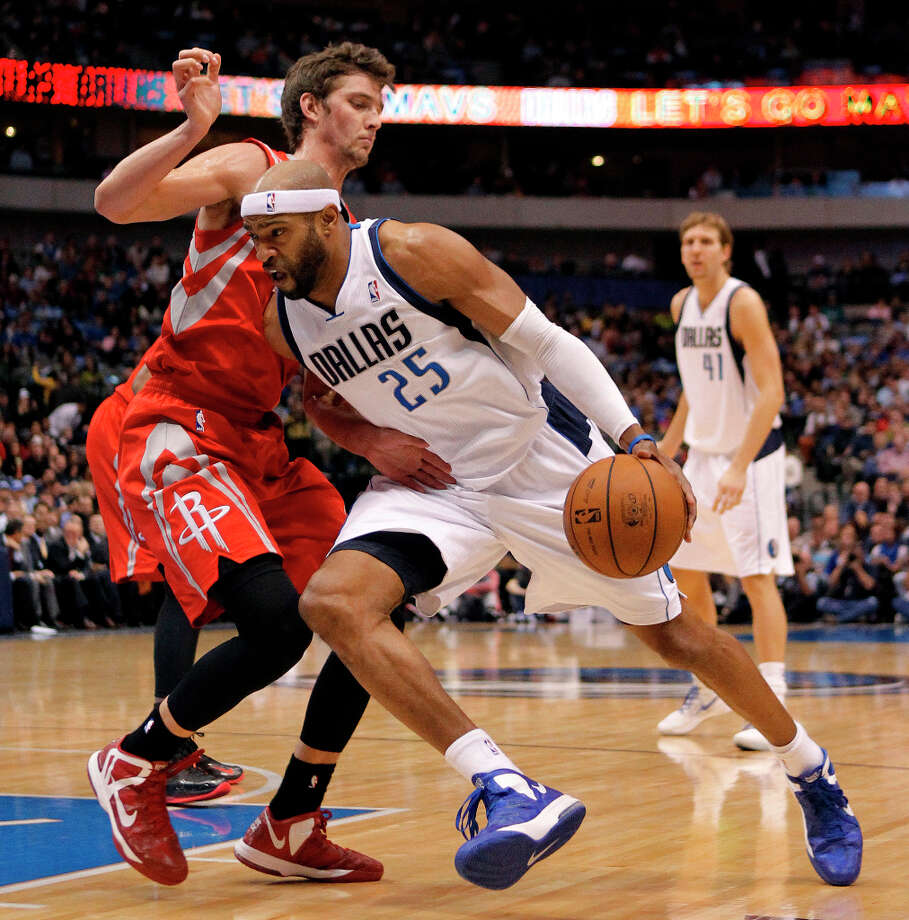 Jan. 16: Mavericks 105, Rockets 100The Rockets were able to tie the game up in the fourth quarter before the Mavericks sealed their fate in the closing minutes. The Rockets have now lost 13 straight games to division opponents when playing away from Toyota Center. Record: 21-19. Photo: Paul Moseley, McClatchy-Tribune News Service