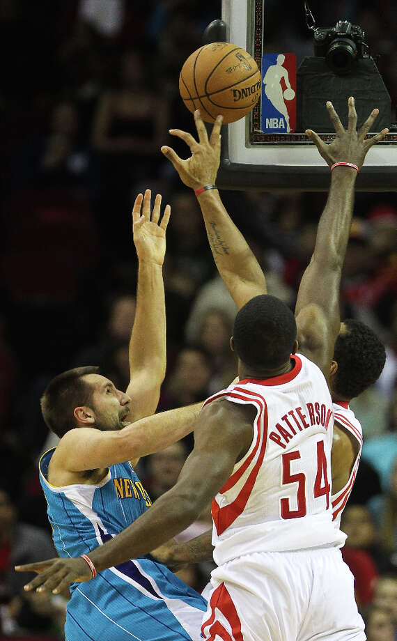 Jan. 2: Rockets 104, Hornets 92Patrick Patterson returned to action after missing several games with an injury. He scored 13 of his 15 points in the fourth quarter, leading the Rockets to a win. Record: 18-14. Photo: Nick De La Torre, Houston Chronicle / © 2013  Houston Chronicle