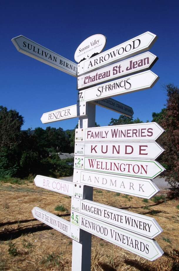 GLEN ELLEN: Rumor has it there are wine tasting opportunities in and around this Sonoma Valley town. (Drive time: 1.25 hours)