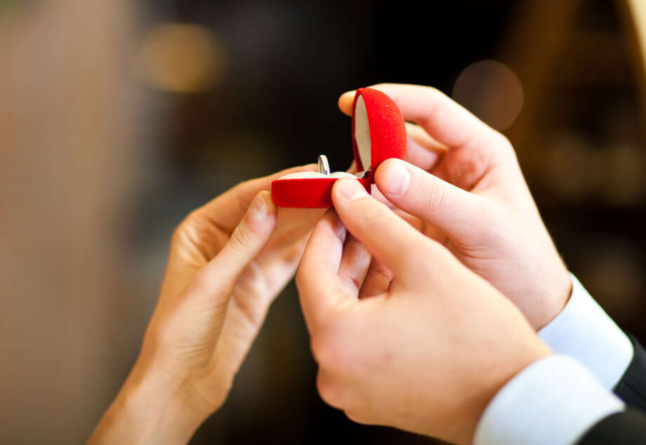 After a man shut down I-45 traffic to propose to his girlfriend, we asked readers and HowHeAsked.com for better ways to propose. Click to see the suggestions we received. Photo: Fotolia / Minerva Studio - Fotolia