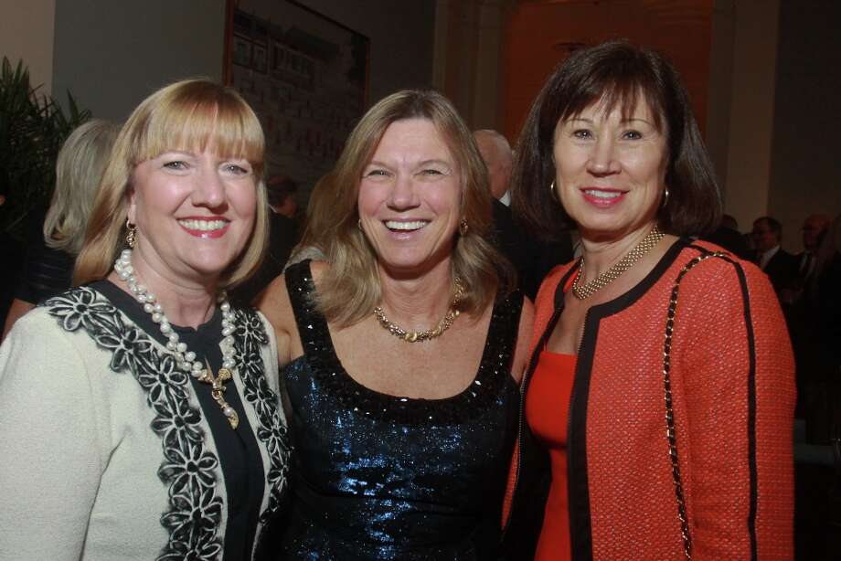 Susan Swann, from left, Carol Barbour and Susan Toomey. Photo: Gary Fountain, For The Chronicle / Copyright 2013 Gary Fountain