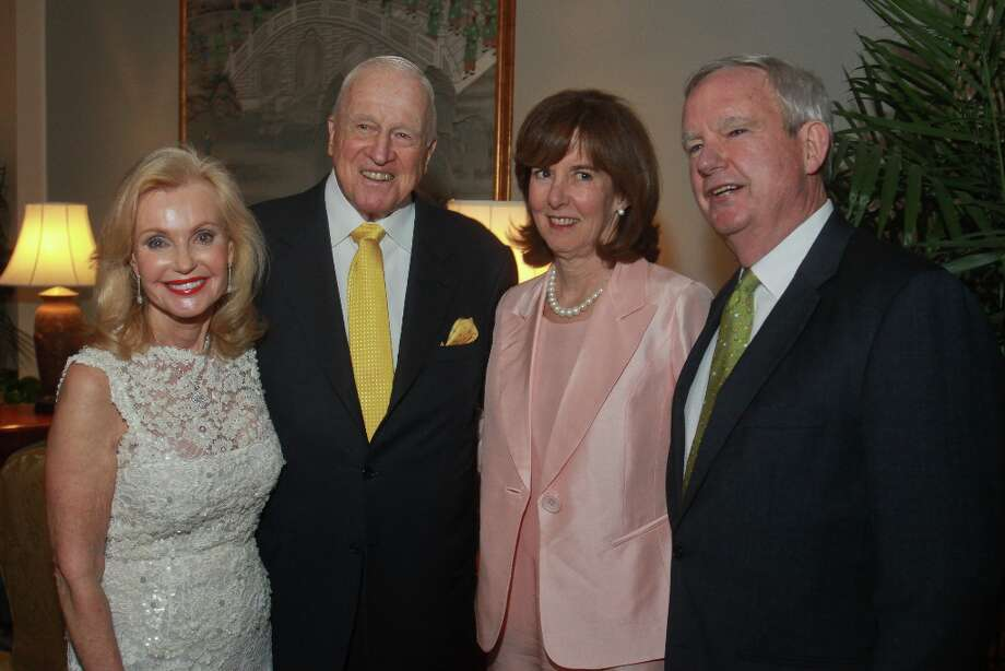 Pat and Dan Breen, from left, with Susie and Joe Dilg. Photo: Gary Fountain, For The Chronicle / Copyright 2013 Gary Fountain