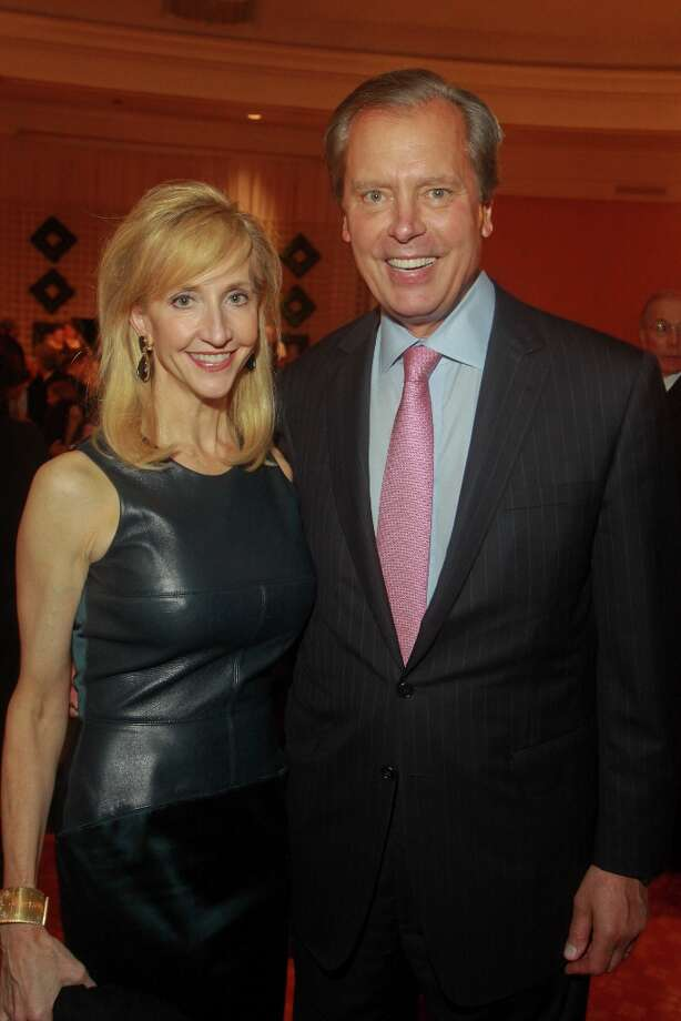 Tricia and David Dewhurst. Photo: Gary Fountain, For The Chronicle / Copyright 2013 Gary Fountain