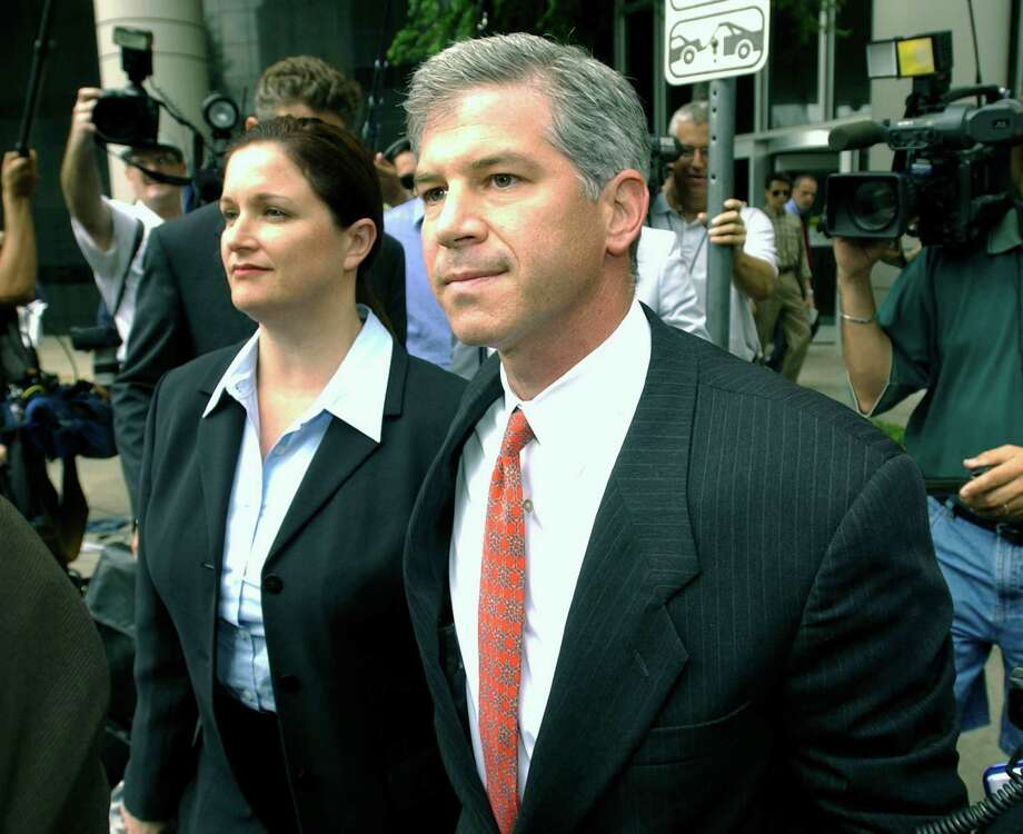 Former Enron chief financial officer Andrew Fastow pleaded guilty to two conspiracy counts and testified against CEO Ken Lay and President Jeff Skilling. He is finishing a 6-year sentence that ends Dec. 17 at his Houston home. As of 2011, he was working as document review clerk for a Houston law firm. Photo: Brett Coomer, Getty Images / Getty Images North America