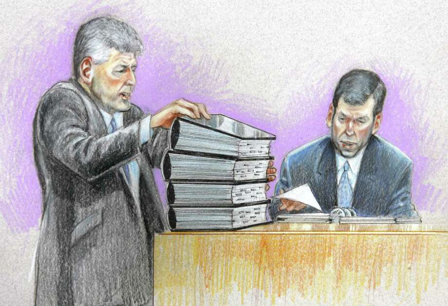 Ben Glisan, on the right, was the treasurer for Enron before the company filed for bankruptcy and faced various criminal charges. Glisan pleaded guilty to conspiracy. He served two-thirds of his 5-year sentence. As of 2011, he was heading his own financial advisory firm, Pinyon Advisors. Photo: PAT LOPEZ, AP / AP