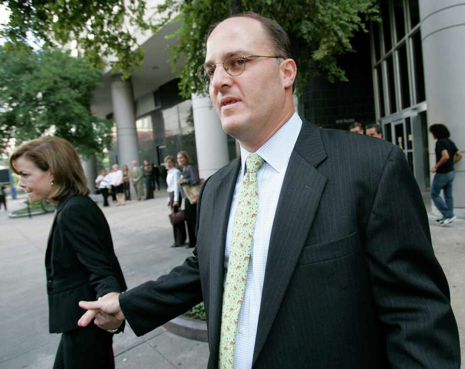 Timothy DeSpain, a former assistant treasurer at Enron Corp., was sentenced to 4 years probation and a $10,000 fine for lying to credit-rating agencies to make the financial picture at the one-time energy giant appear healthier than it was. As of 2011, he was now the president of GTL Logisitcs, a firm planning to build a hub in Port Arthur to transport oil from shale projects between refineries and chemical plants. Photo: DAVID J. PHILLIP, AP / AP