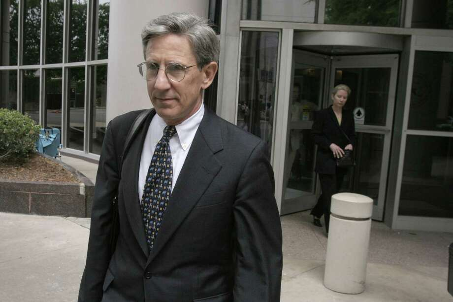 Former Merrill Lynch executive Daniel Bayly was sentenced to 30 months in prison for his participation in Enron's sale of power barges to the brokerage. His conviction was thrown out on appeal. Photo: MICHAEL STRAVATO, AP / AP