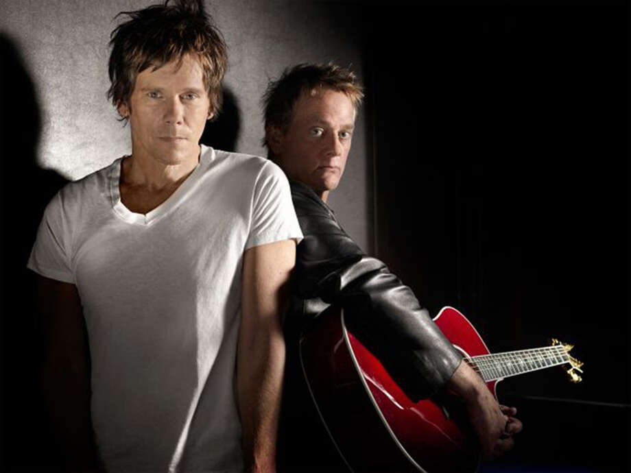 Film and stage actor Kevin and his brother Teddy are the Bacon Brothers.