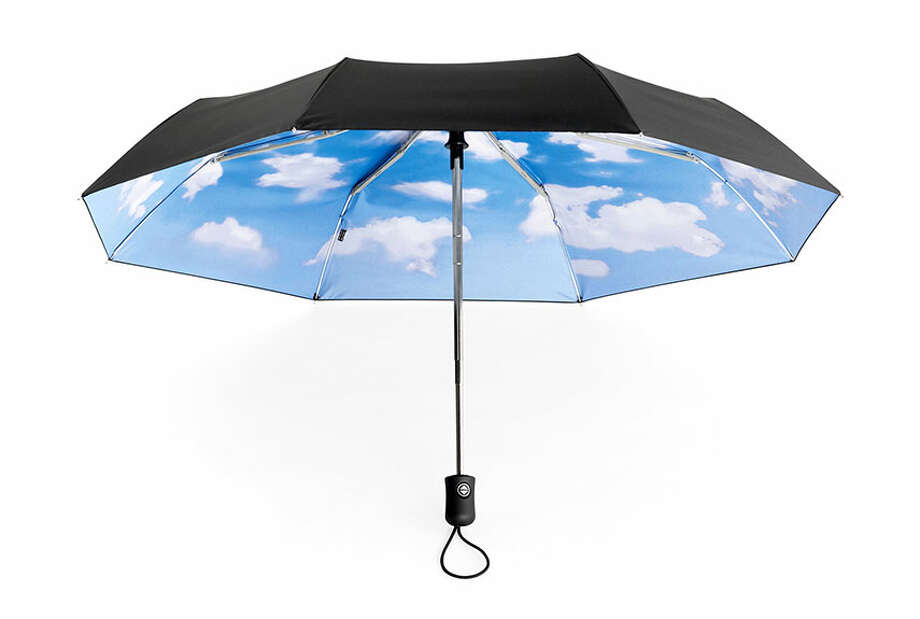 Who cares about blue skies up above when they're inside your umbrella? Sky Umbrella, $38, MoMA Store. Photo: Contributed Photo / © MoMA 2011