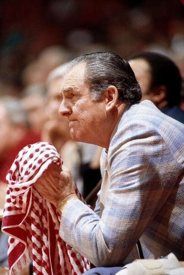 Under the guidance of Lewis, UH made five Final Four appearances, including a stretch of three in a row during the 1980s.