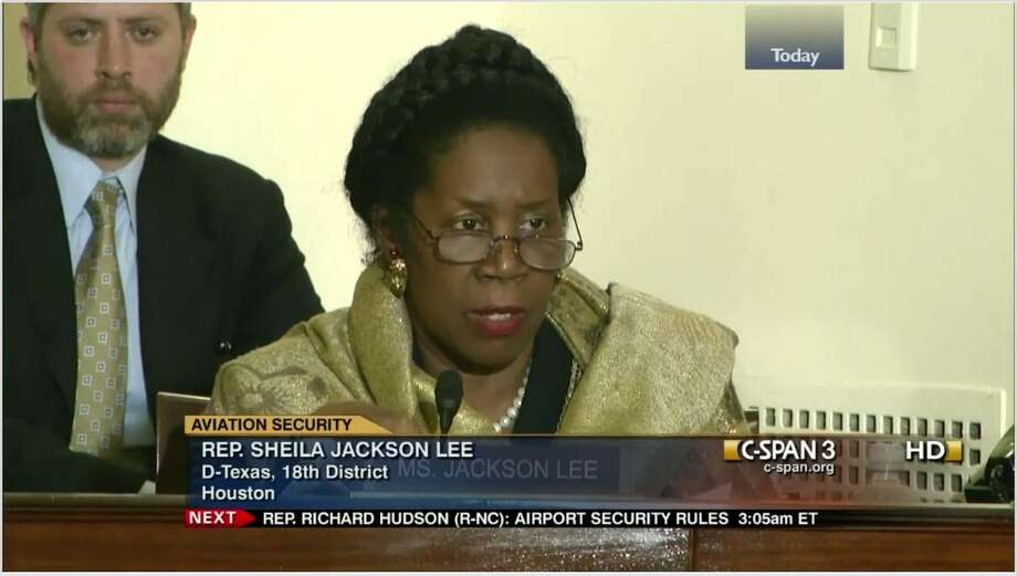 Texas Rep. Sheila Jackson Lee leads the pack at 19 days she has spoken on the House floor. The Houston Democrat also came in eighth place for giving six one-minute speeches.