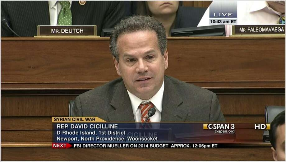 Rep. David Cicilline, D-R.I., concludes the top ten list, having delivered sentiments on the House floor 11 different days.