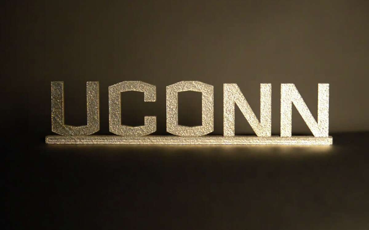 The new UCONN logo was shown in a Youtube video posted by the university.