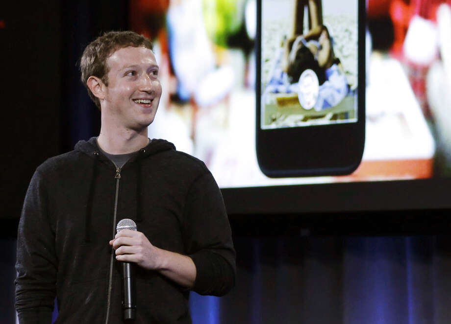 Facebook CEO Mark Zuckerberg speaks at the company\'s headquarters in Menlo Park, Calif., Thursday, April 4, 2013. Zuckerberg says the company is not building a phone or an operating system. Rather, Facebook is introducing  a new experience for Android phones. The idea behind the new Home service is to bring content right to you, rather than require people to check apps on the device. Photo: Marcio Jose Sanchez, Associated Press / AP