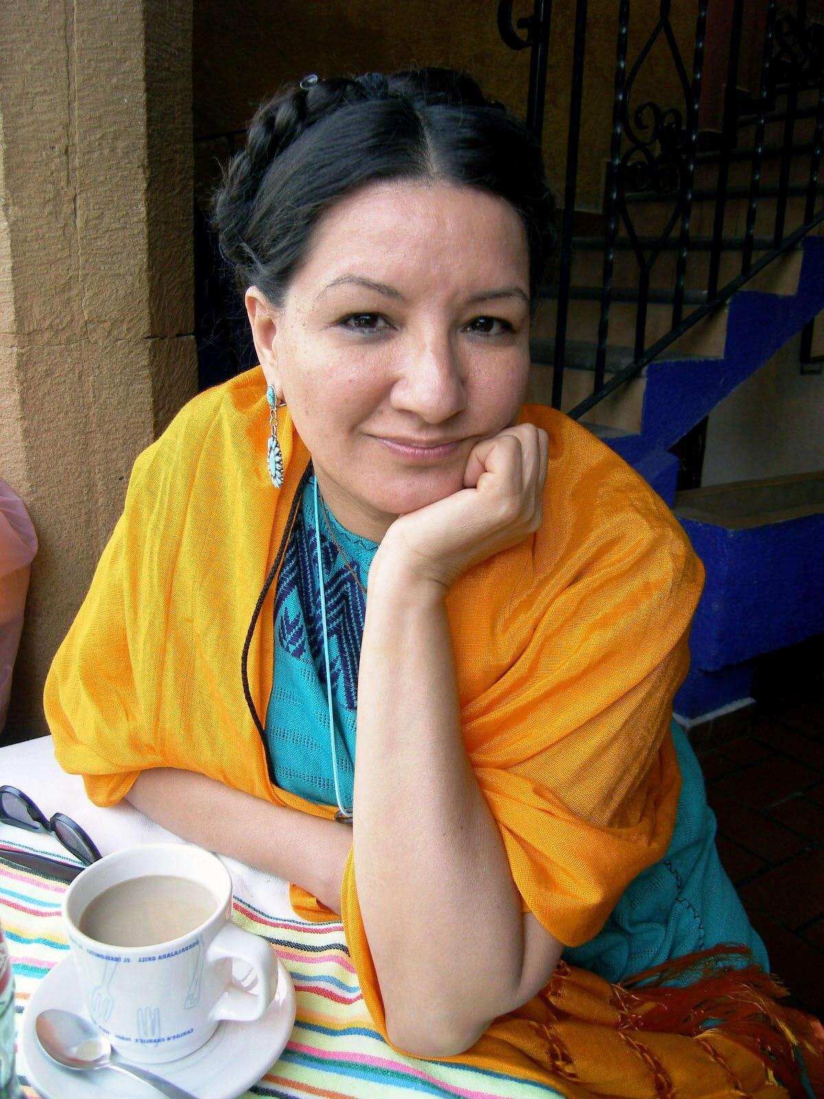 Sandra Cisneros. With