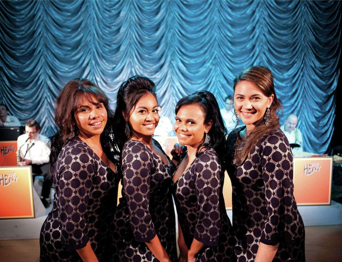 """The Sapphires"" stars Deborah Mailman, from left, Jessica Mauboy, Miranda Tapsell and Shari Sebbens as an Australian singing group during the Vietnam era."