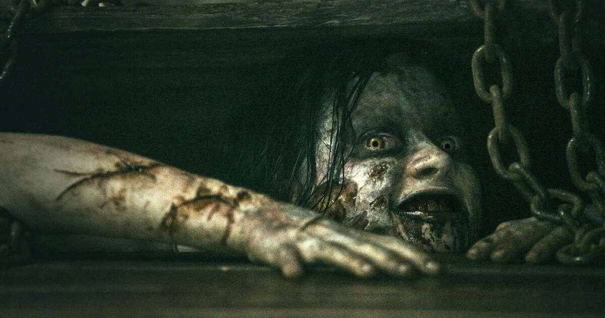 """Mia (Jane Levy) suffers from more than drug withdrawals in """"Evil Dead."""""""
