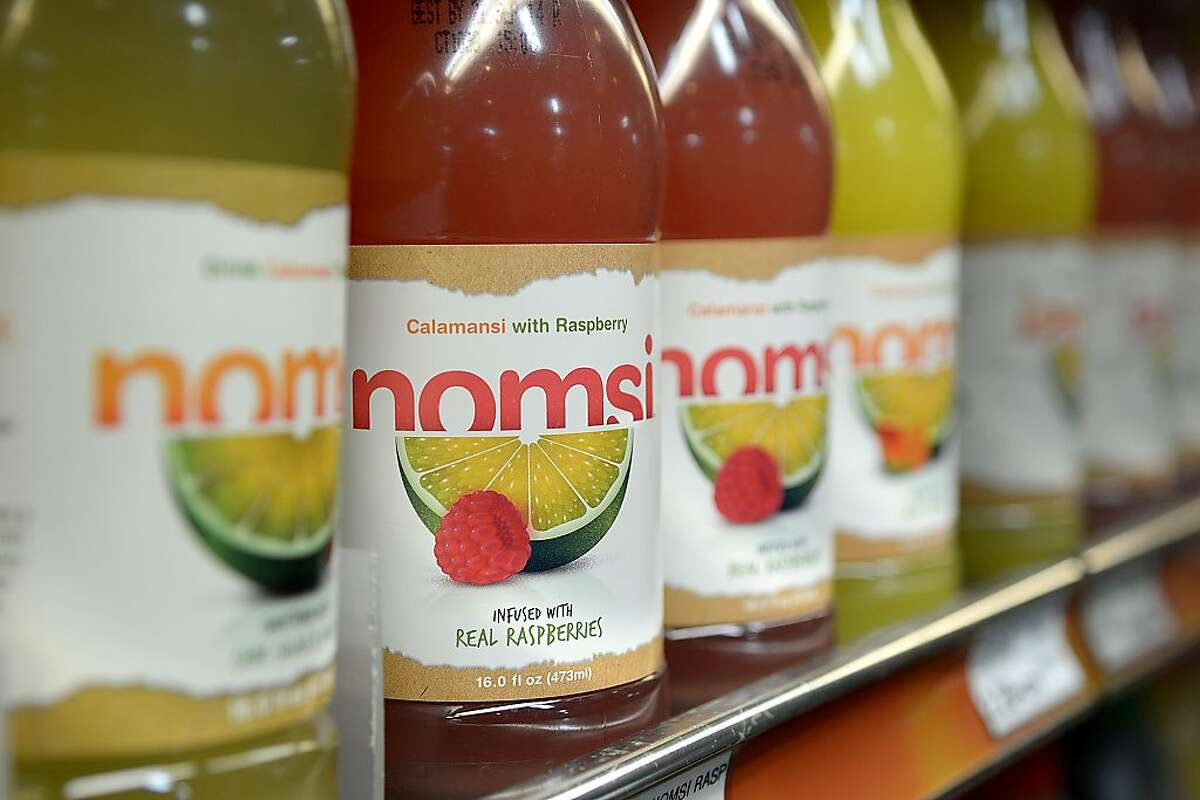 New Calamansi flavored drink Nomsi at the Rincon Market on April 3, 2013 in San Francisco, Calif. Calamansi is a popular drink in the Phillippines.
