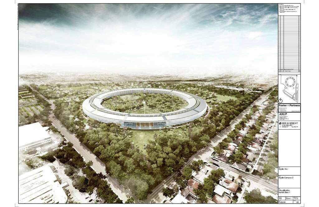 Apples new campus opens to employees public this year SFGate