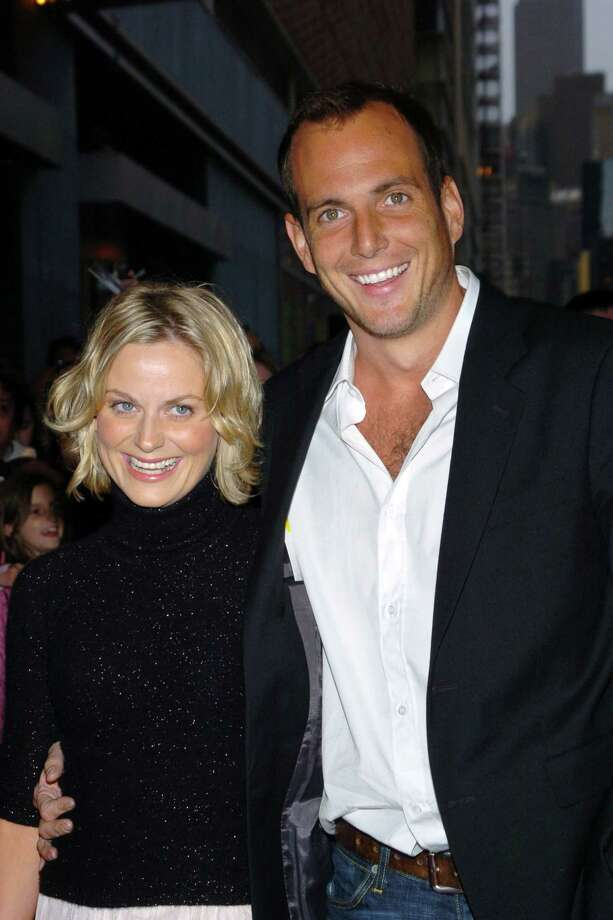 Will Arnett, aka Gob Bluth, pictured in 2002 with Amy Poehler. Photo: Lawrence Lucier, Getty Images / FilmMagic