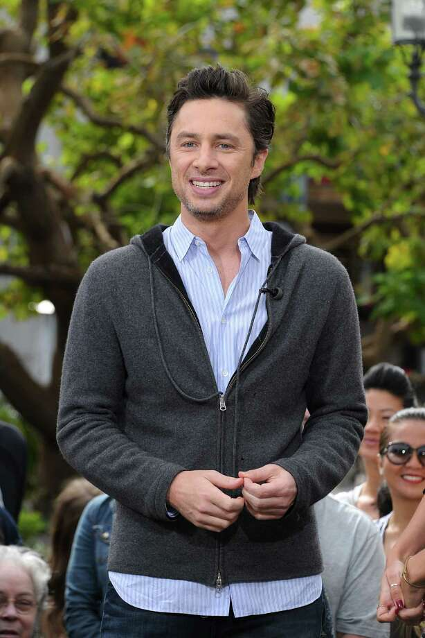 Zach Braff, pictured 2013. Photo: Noel Vasquez, Getty Images / 2013 Noel Vasquez