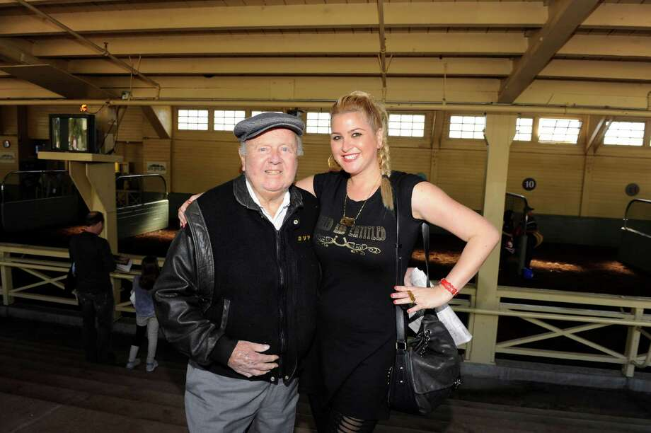 Dick Van Patten, pictured in 2013 with Josie Goldberg. Photo: Amy Graves, Getty Images / 2013 Amy Graves