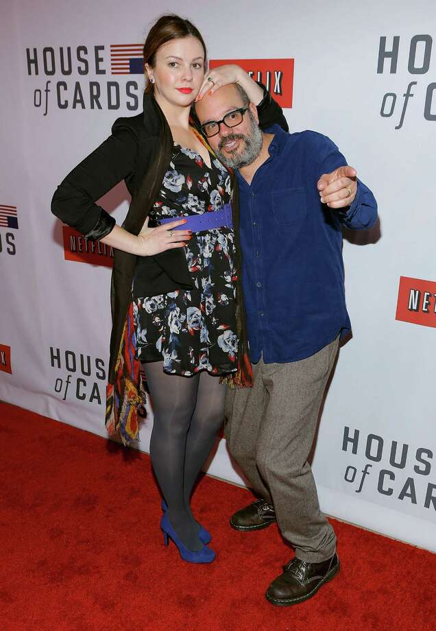 David Cross, pictured in 2013 with Amber Tamblyn. Photo: Jemal Countess, Getty Images / 2013 Getty Images