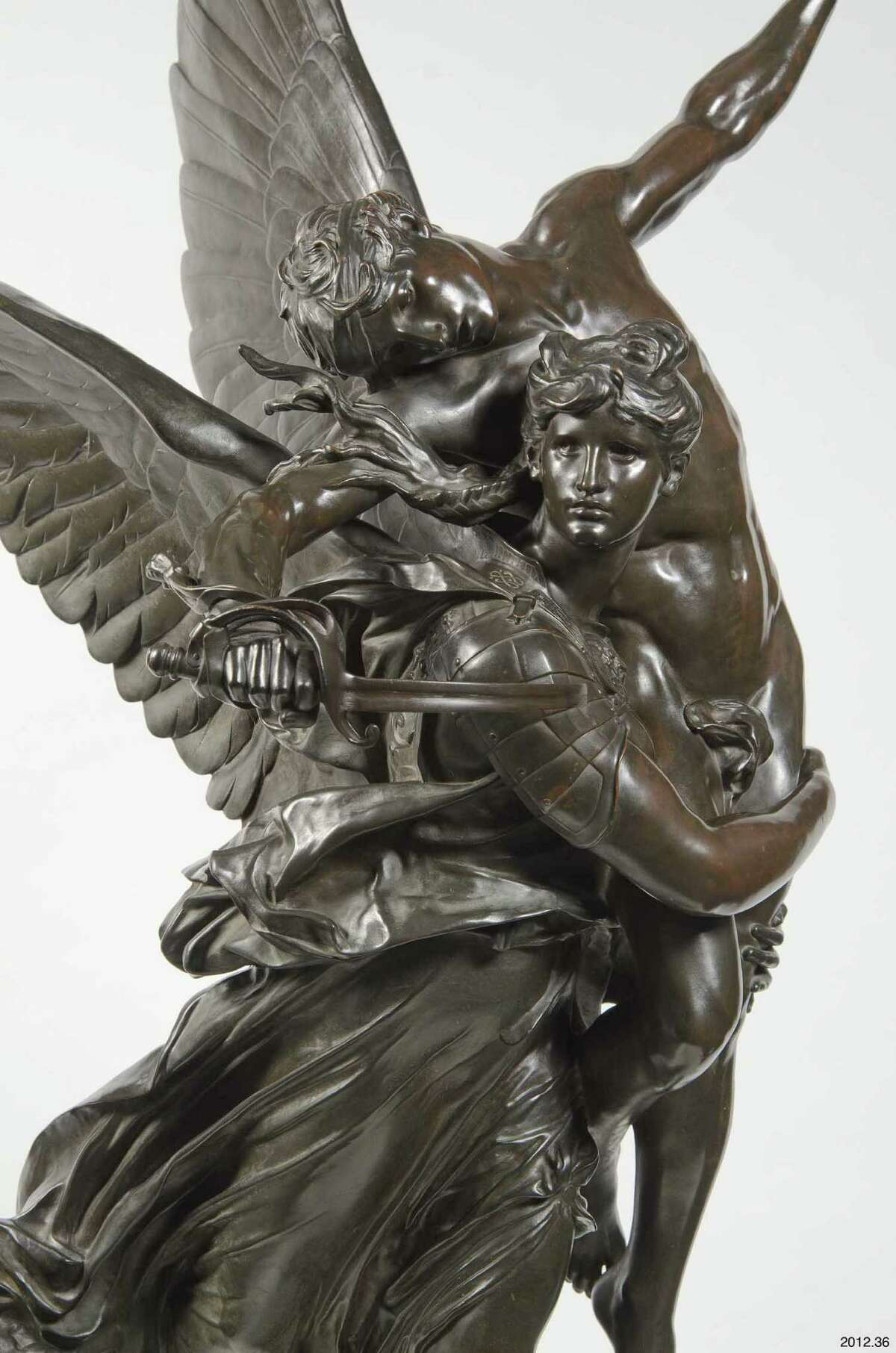 """Antonin Mercie's """"Gloria Victis!"""" was one of the most famous sculptures of late 19th-century France."""