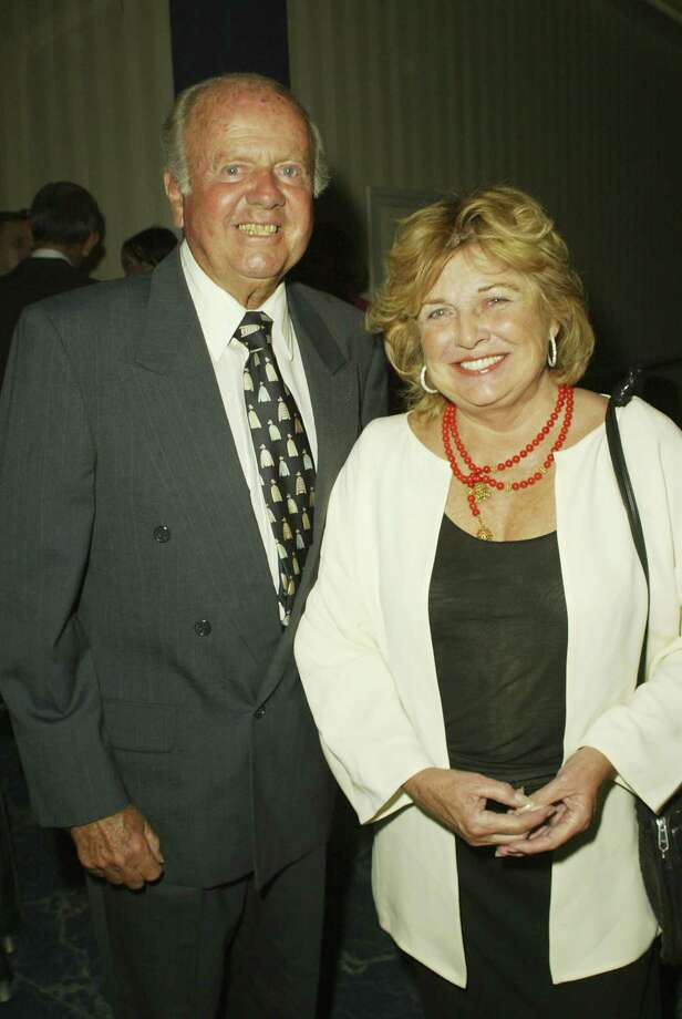 Dick Van Patten, aka Cal Cullen, pictured with wife Pat in 2003. Photo: Chris Hatcher, Getty Images / 2003 Getty Images